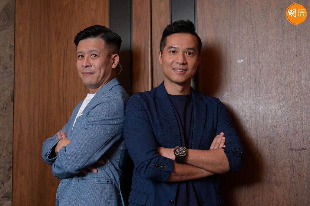 體育製作經理張志豪和劉健基,是開電視奧運節目的幕前兼幕後功臣。