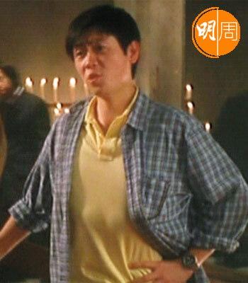 李思捷在周星馳《喜劇之王》中演劉華腔的導演