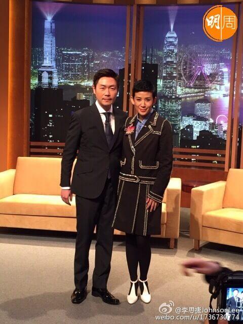 李思捷幾年前主持late night show《今晚睇李》,請來吳君如做嘉賓。