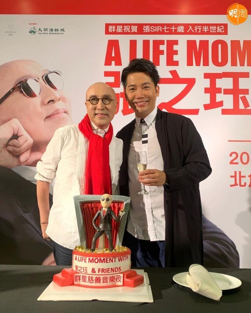 張之珏在10月舞台劇《老公你好悶呀!》與黃建東合作