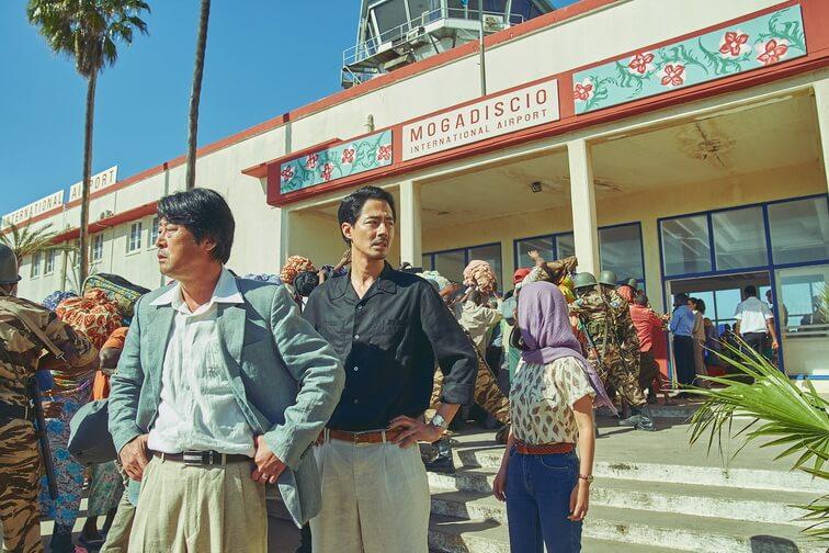 《絕路狂逃》改編真人真事 南北韓攜手逃出索馬里 趙寅成最愛那場戲?