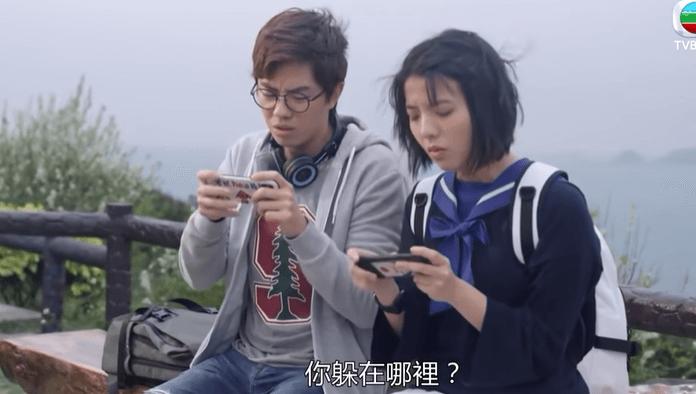鍾雪瑩於劇集《香港愛情故事》飾演兼職女友。