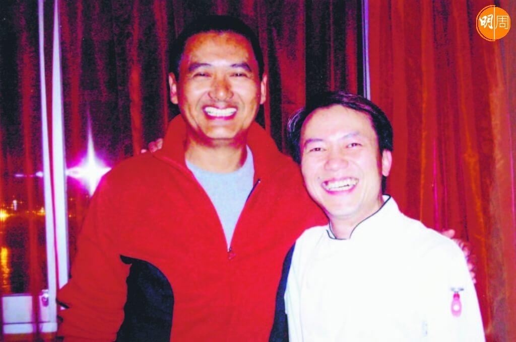 周潤發是Ricky的熟客,Ricky介紹他到上環吃豬雜麵。