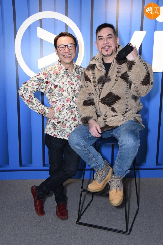 Ricky其中一位熟客是黃秋生,兩人曾一起主持ViuTV節目。
