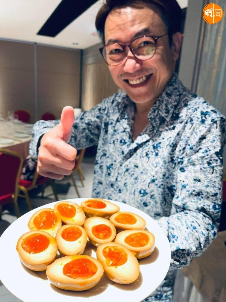 Ricky近期愛煮糟鹵雞蛋