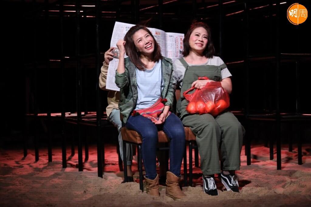 彭秀慧現時忙拍姜濤新戲外,也要抽時間排練舞台劇。