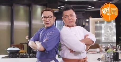 Ricky和保哥兩位大廚在《煮場爭霸》鬥到《煮戰》