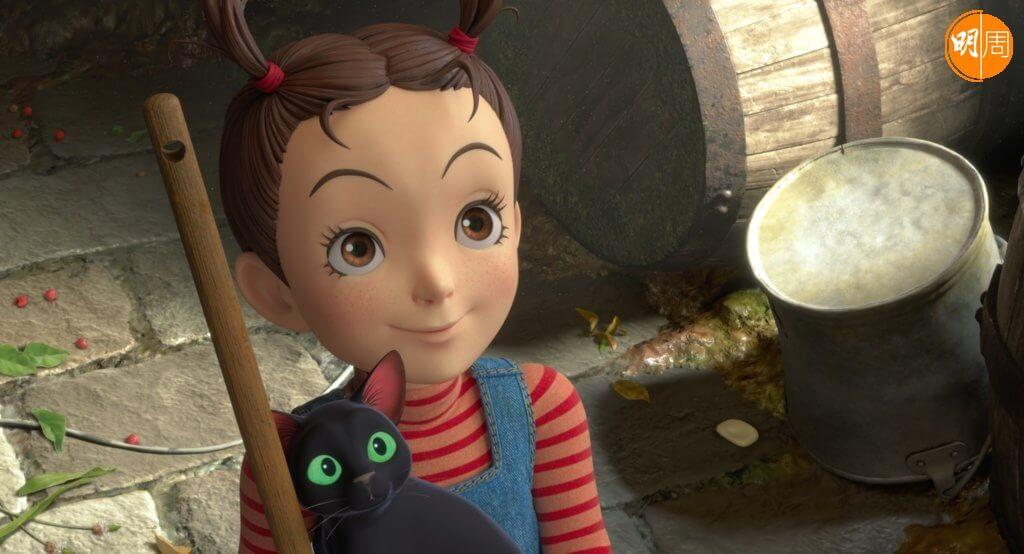 吉卜力首部全電腦動畫製作的電影《安雅與魔女》,是日本動畫大師宮﨑駿與導演宮崎吾朗父子檔聯手呈獻。