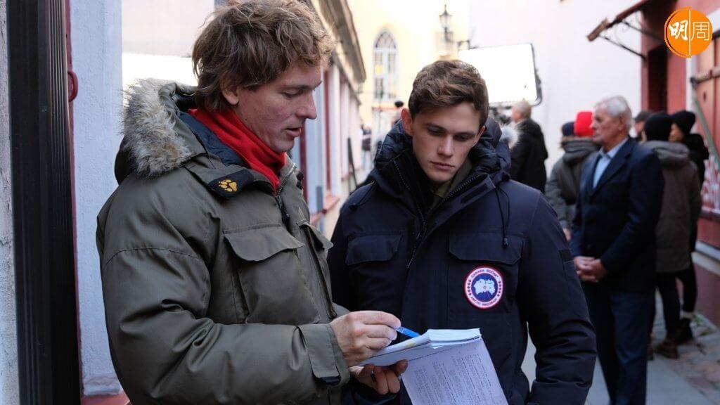 愛沙尼亞導演Peeter Rebane(左)與英國男星Tom Prior,日前接受本刊越洋電郵訪問。