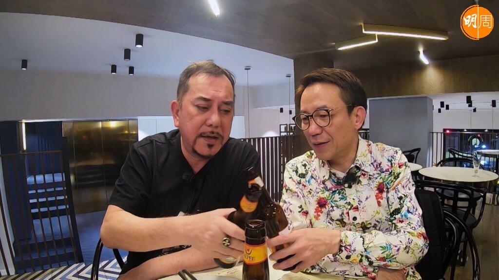 Ricky曾在ViuTV和黃秋生一起主持旅遊飲食節目
