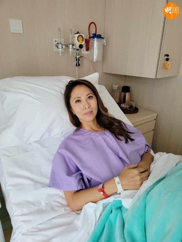 想了一天,她就決定做切除雙乳手術。