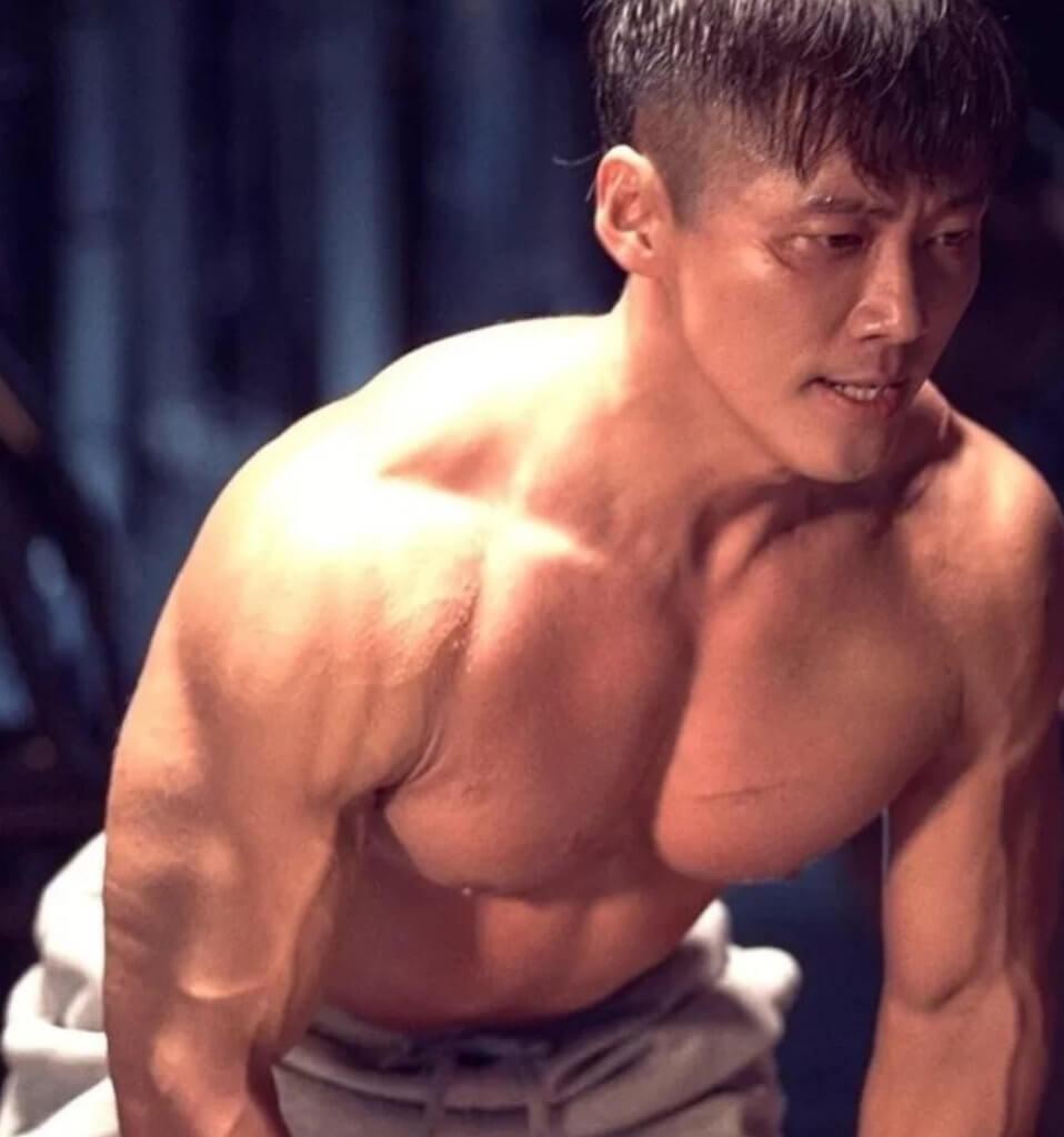 南宮珉為《黑色太陽》火速增肌,晉身肌肉男神行列。