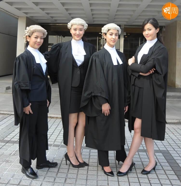 劇集《四個女仔三個BAR》,(左起) 何雁詩、陳瀅、陳凱琳、劉佩玥合作。
