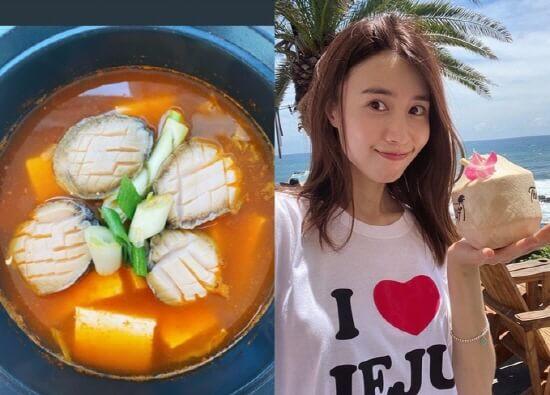 陳雅凜在社交網站展示自己的下廚功架