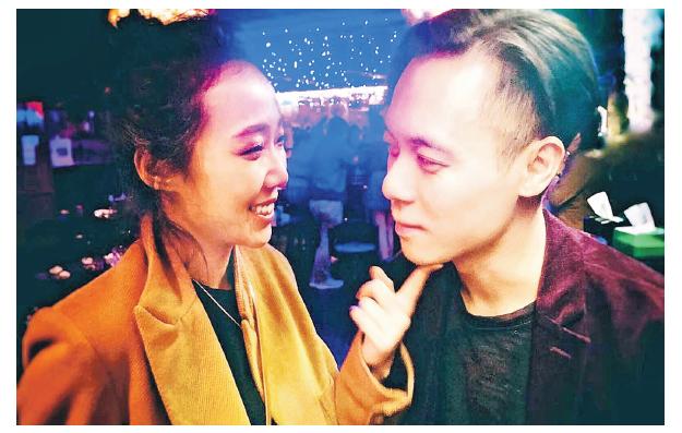 卓韻芝分享第一張跟未婚夫的合照曬甜蜜。(網上圖片)