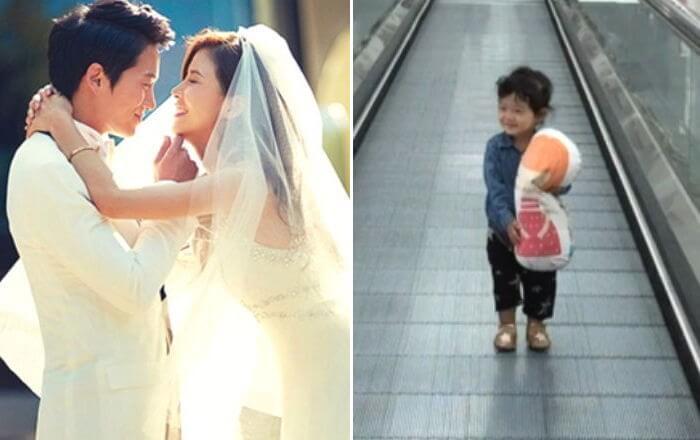 池晟與李寶英婚後感情穩定,女兒可愛照片更成話題。