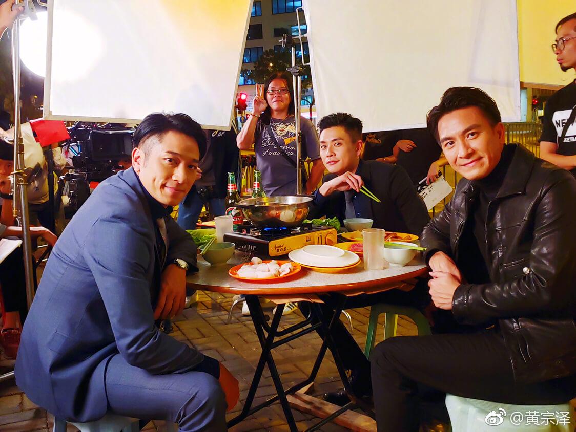 轉眼《衝上雲霄》已過了十七年,Bosco、吳卓羲和馬國明亦由「𡃁仔」變成獨當一面的小生。