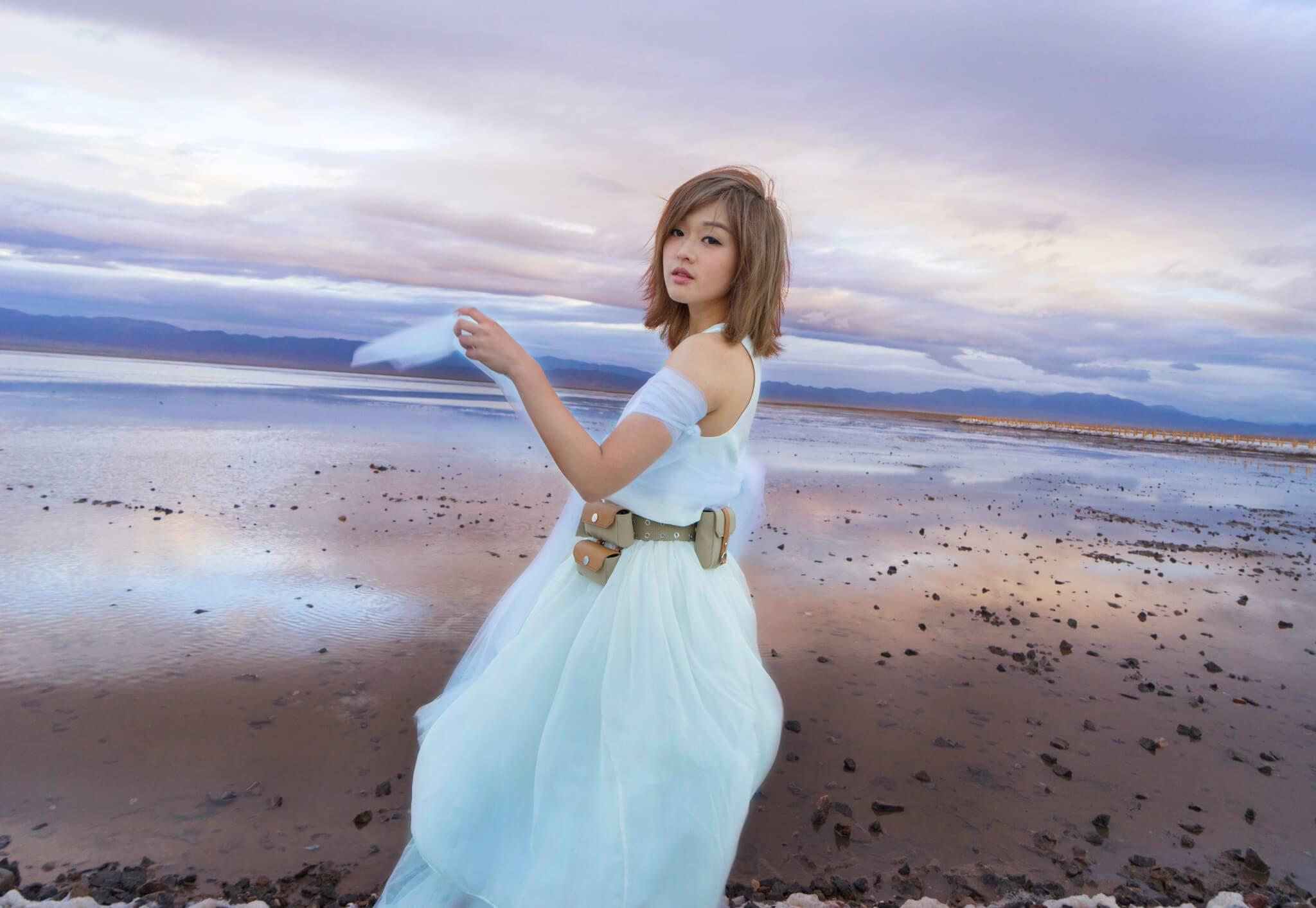 Jocelyn是第一位進入四川鞍子河自然保護區拍攝的歌手