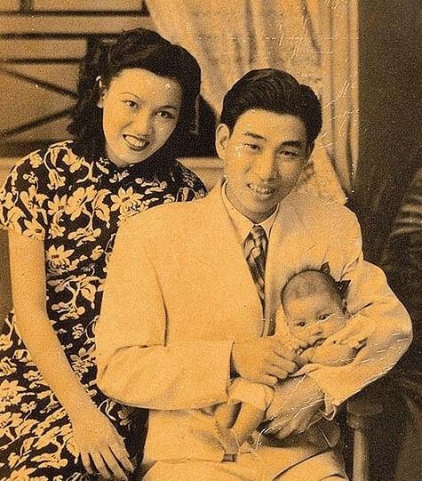 琴姐第一任丈夫蕭仲坤