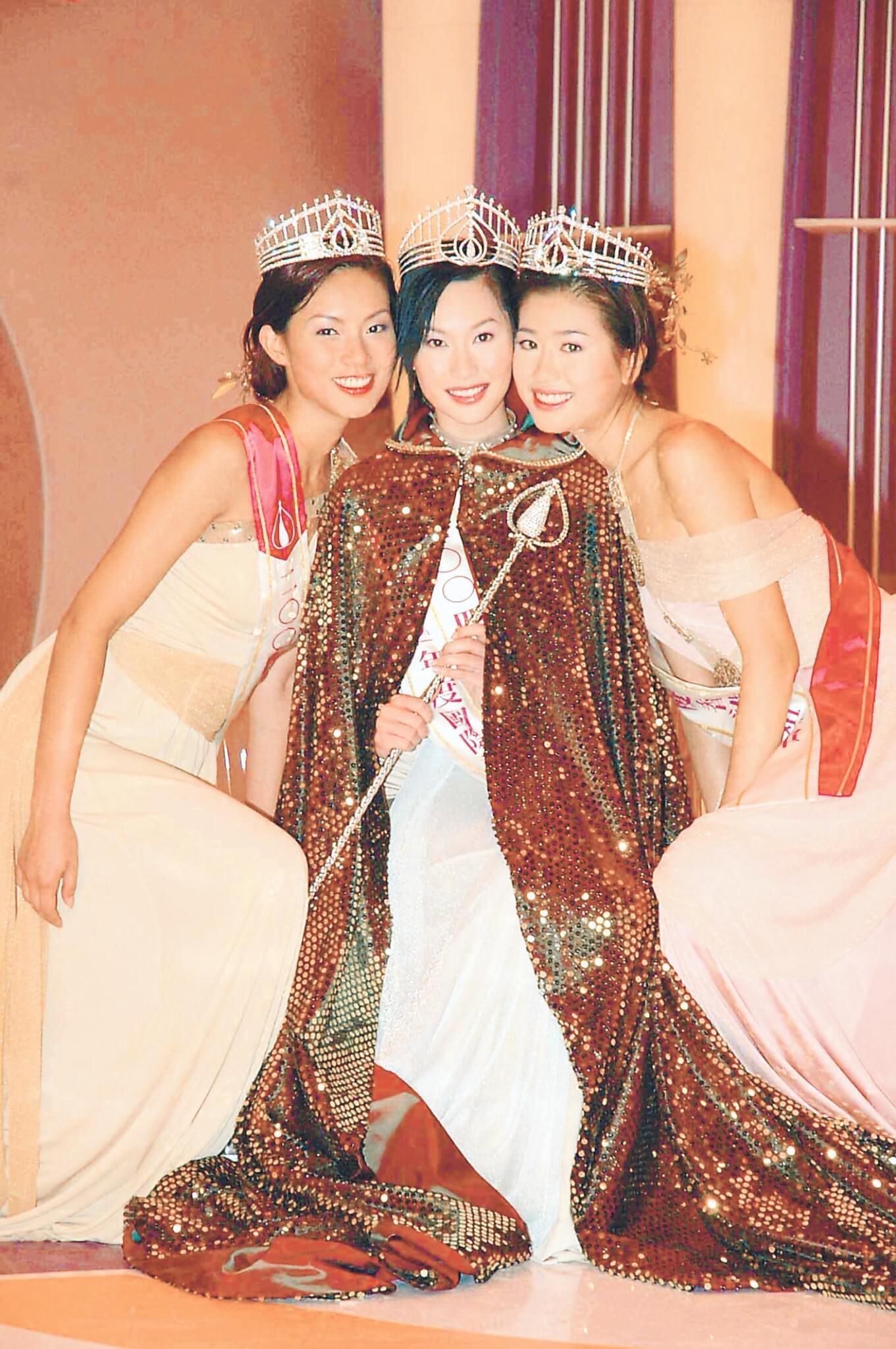 朱慧敏和符思思兩位高妹躋身三甲之位