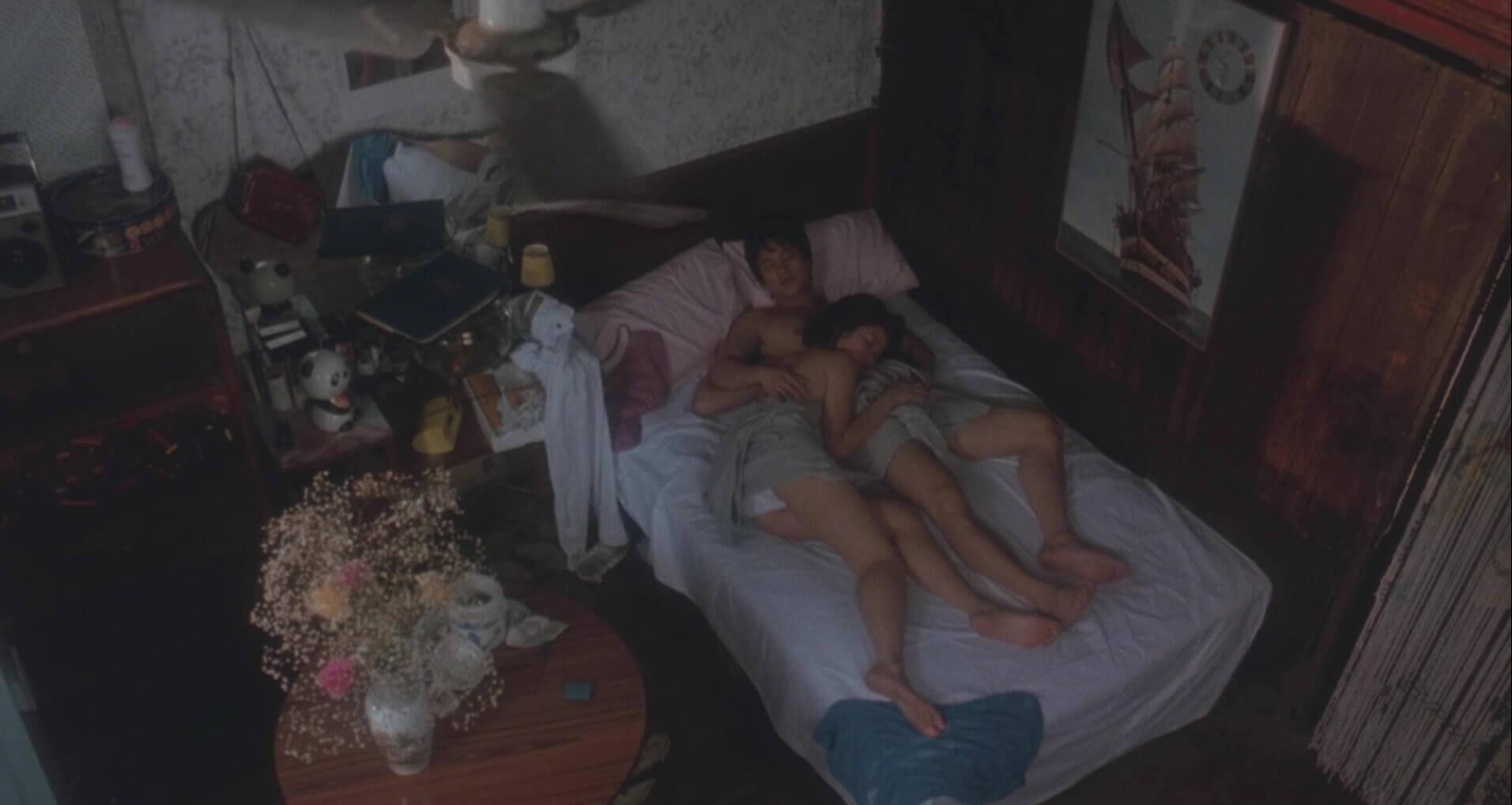 鍾楚紅在電影《男與女》有破格演出(電影截圖)