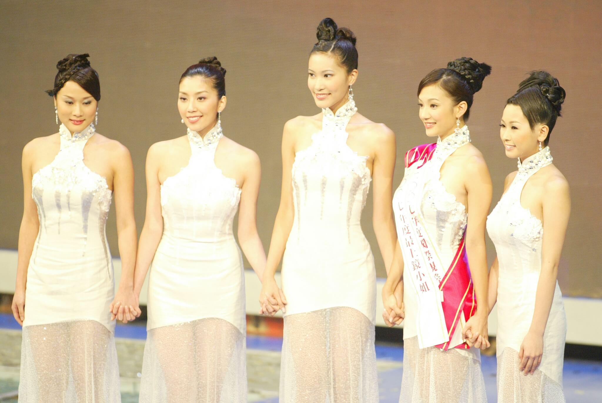 Candice與張嘉兒、王君馨、周美欣和黃智雯打入最後五強
