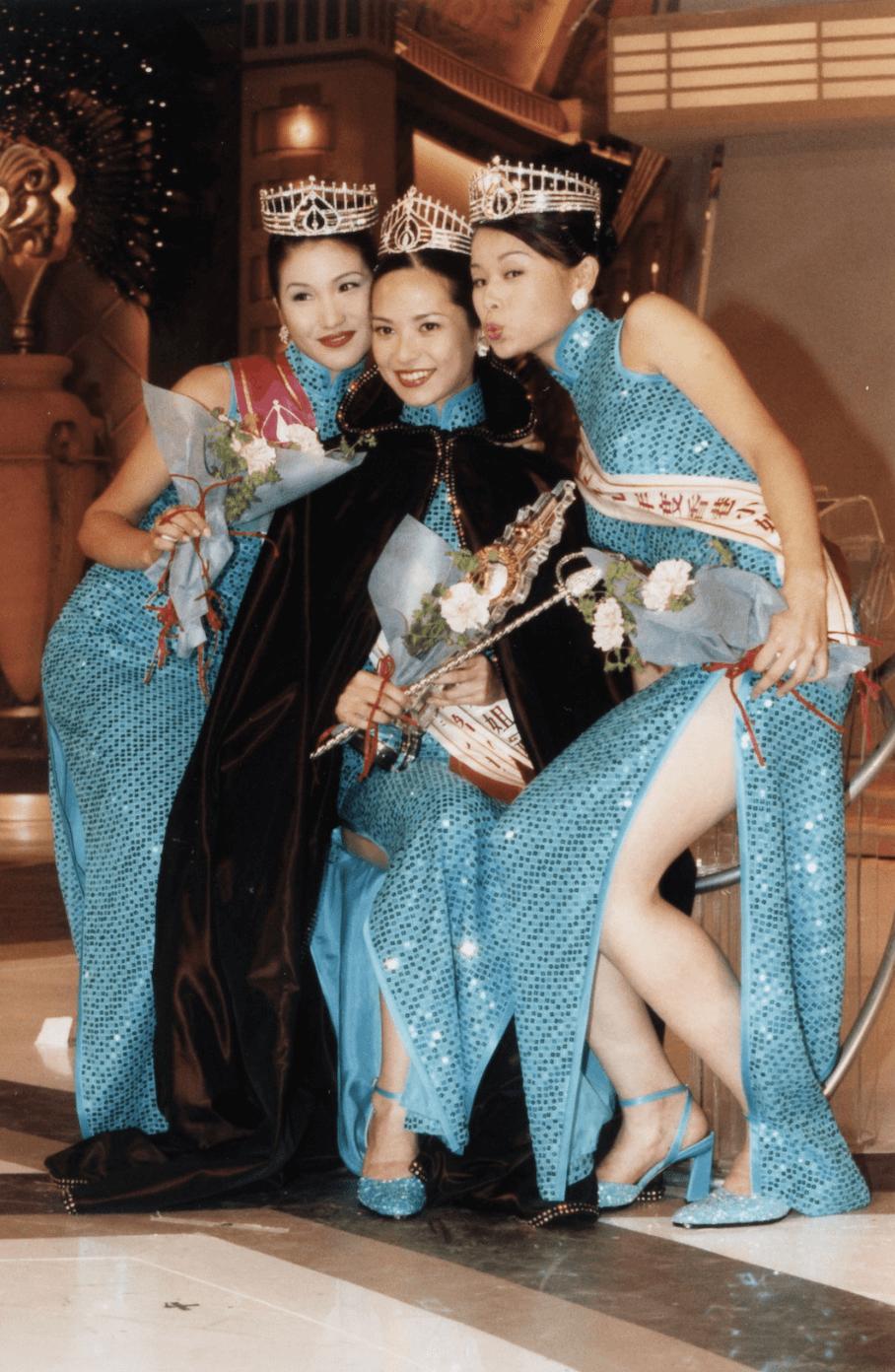 有171cm的胡杏兒(1999年季軍)亦屬高妹一族