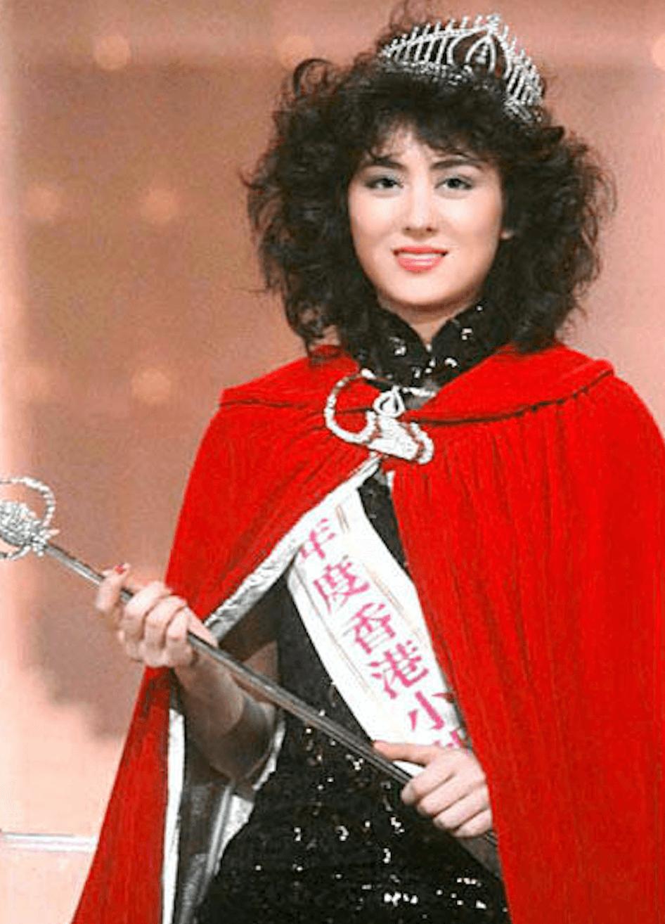 高麗虹榮獲1984年港姐冠軍