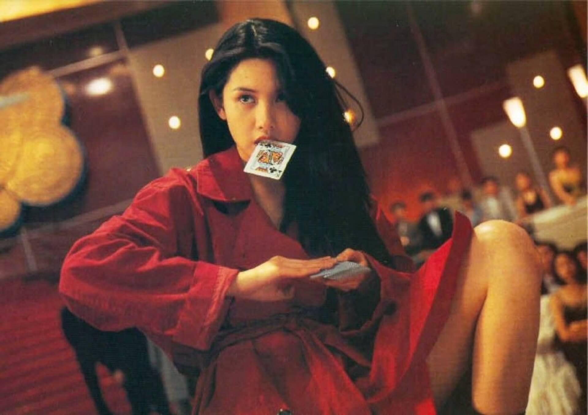 《賭神2》中海棠一角極其驚艷