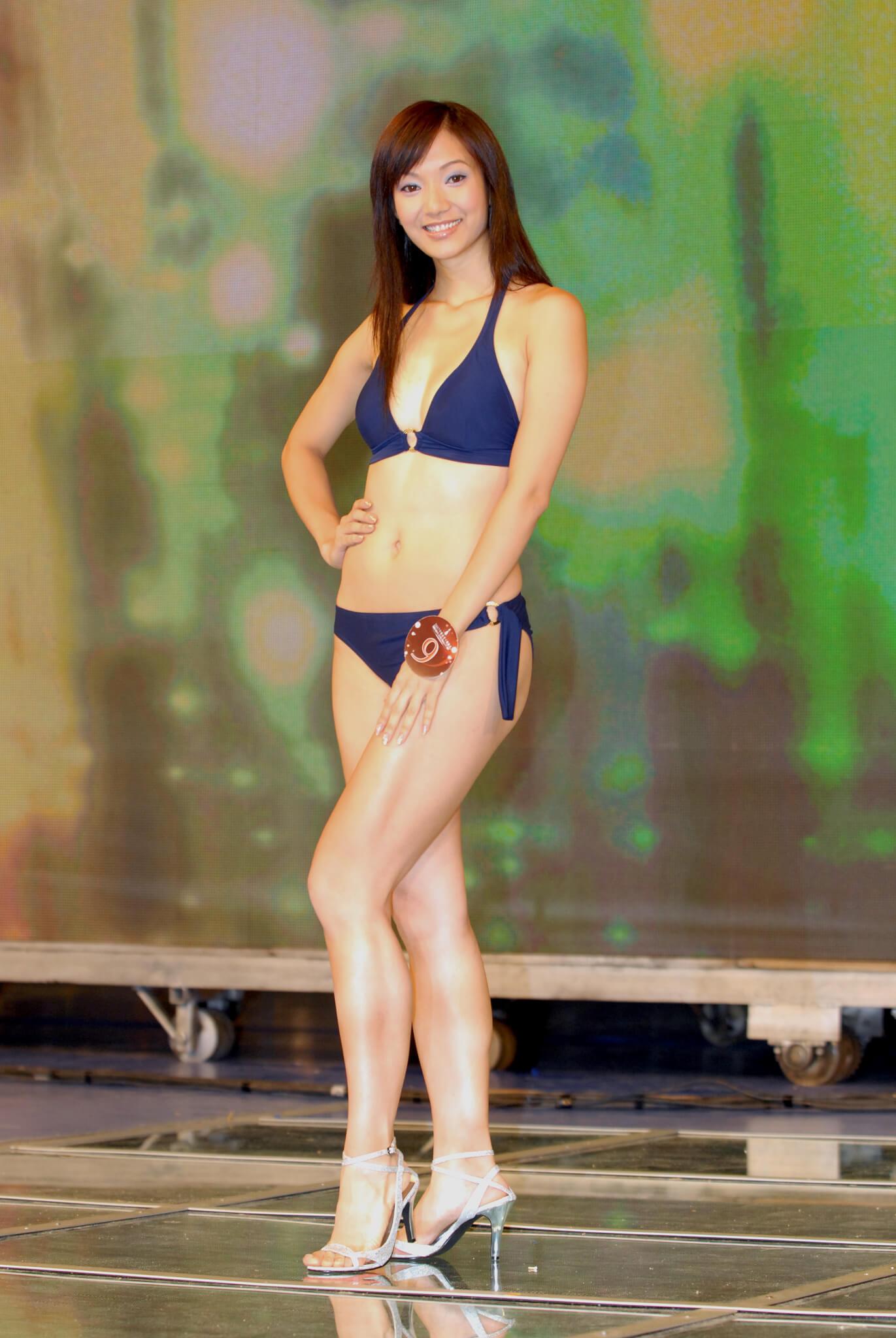 王君馨2007年年參選港姐