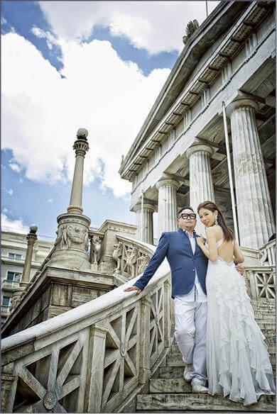 錢國偉和女友陳宛蔚2015年拉埋天窗,二人早前往杜拜、土耳其、希臘等地影婚紗相。