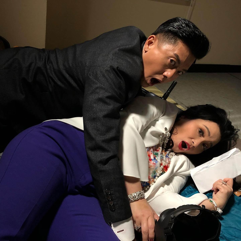 Michael在《愛‧回家之開心速遞》飾演接龍保安馬漢,與飾演三太的樊亦敏有對手戲,充滿笑點。