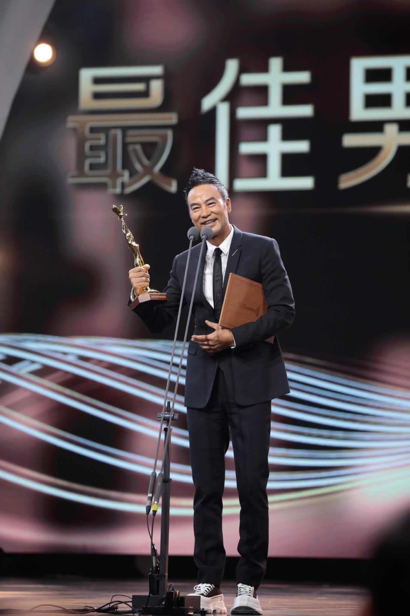 香港首位男演員獲視帝
