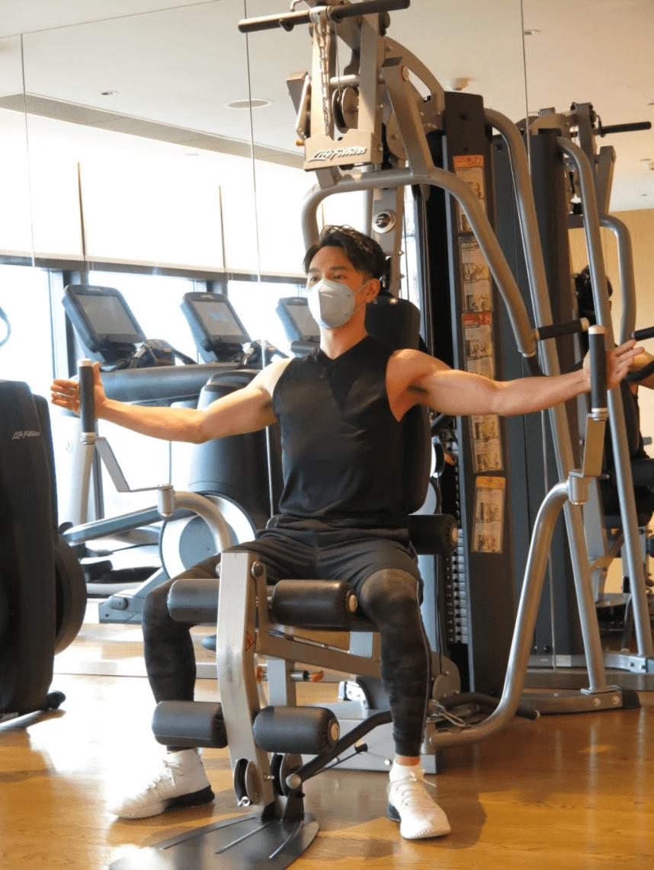 享用酒店健身設施