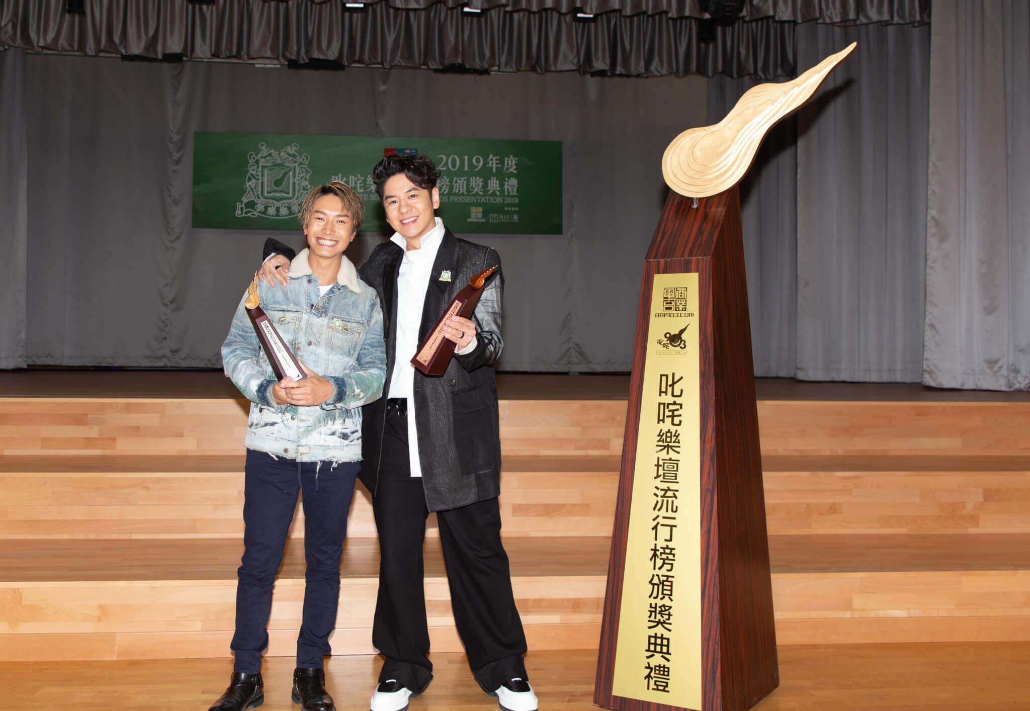 去年《吒咜》男歌手銀獎陳柏宇、銅獎許廷鏗,今年將大洗牌。