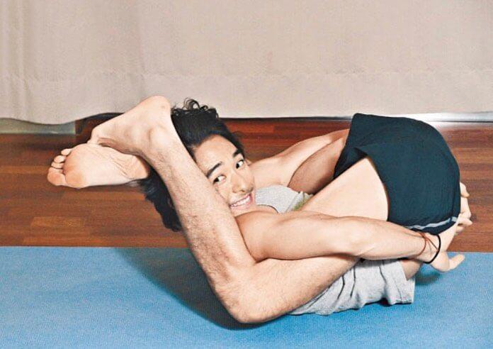 Alex入行前已考取專業瑜伽導師牌照