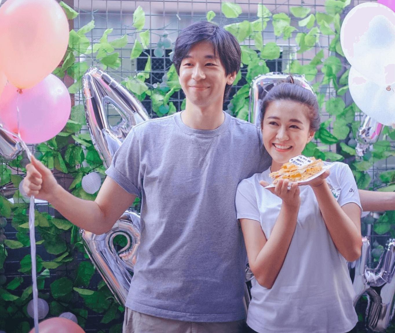 江嘉敏與男友拍拖兩年,十分甜蜜