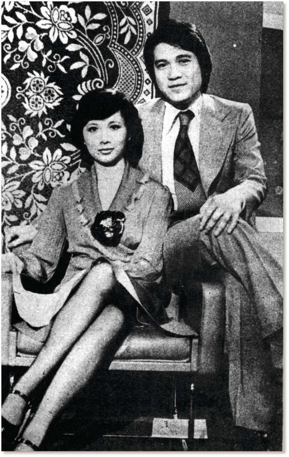 歐嘉慧與何守信合作演出《歡樂今宵》擦出愛火花,婚姻維持了兩年