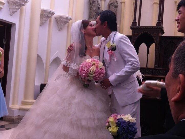 結婚8年仍十分恩愛