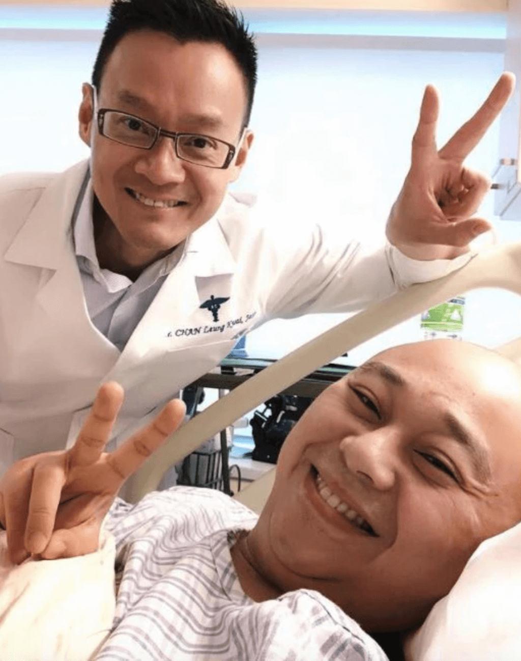 陳良貴醫生2018年曾為阿Bob做「通波仔」手術