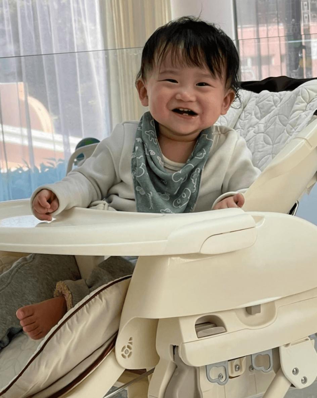 被寶寶的笑容融化