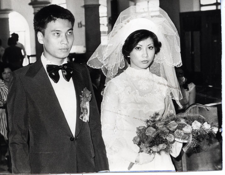 七六年五月吳孟達與麥莉莉結婚,麥跟吳同甘共苦十八年,還是要分手。(圓片:本刊資料室)