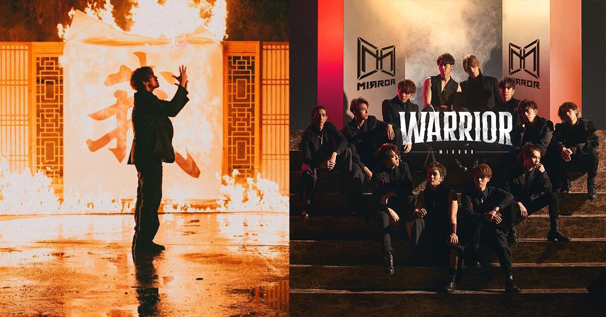姜濤及所屬之男團MIRROR今個月均推出新歌MV