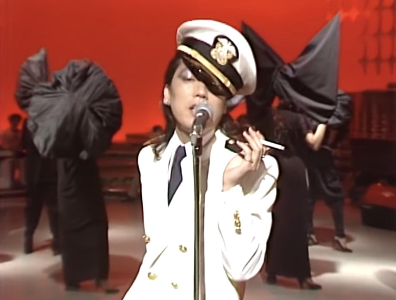 澤田研二的中性船長look