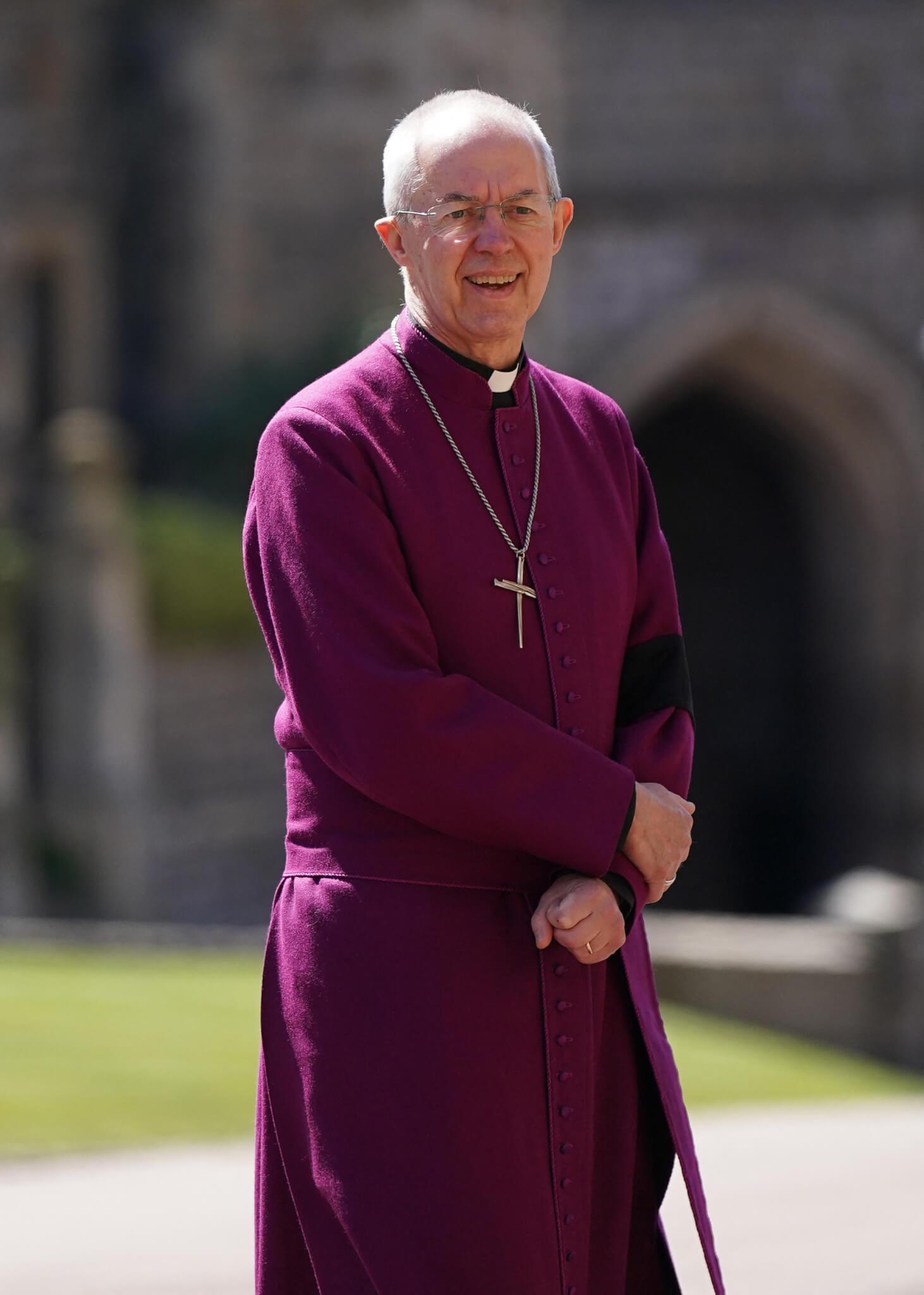 坎特伯雷大主教韋爾比主持喪禮