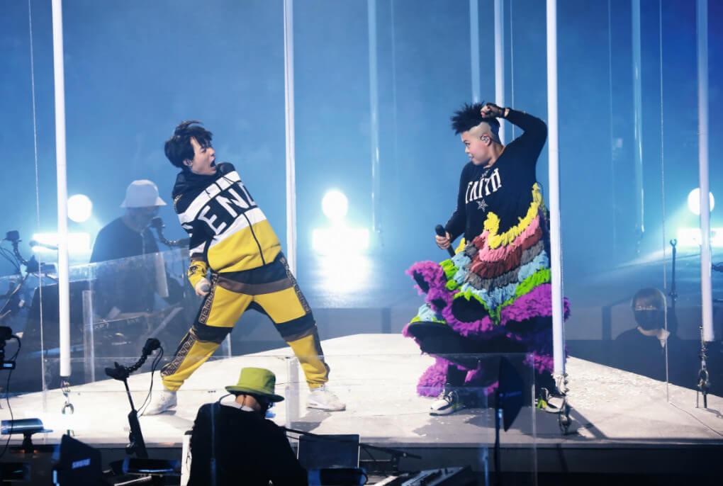 《全民造星Ⅲ》冠軍「折骨Ben」趙祥誠擔任兩場的固定嘉賓,與二汶合唱《People Like us》、《超友誼》兩首歌,Ben在台上大跳折骨舞,獲全場歡呼。