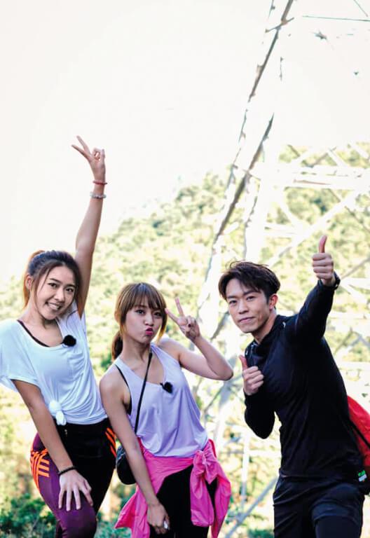 疫情期間拍攝節目《港產旅行團》,幾位主持介紹香港行山熱點而人氣勁升。