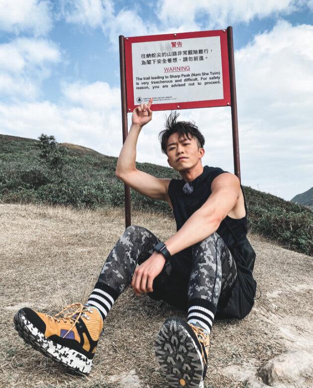 鄭衍峰直言開心在街上被觀眾認出,更問他行山路線。