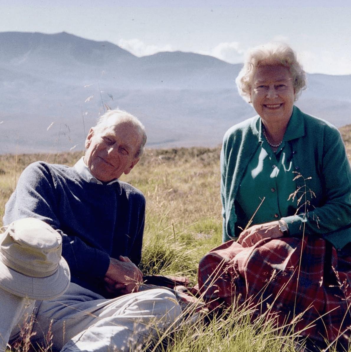 英女王今日發放與丈夫最愛合照作悼念