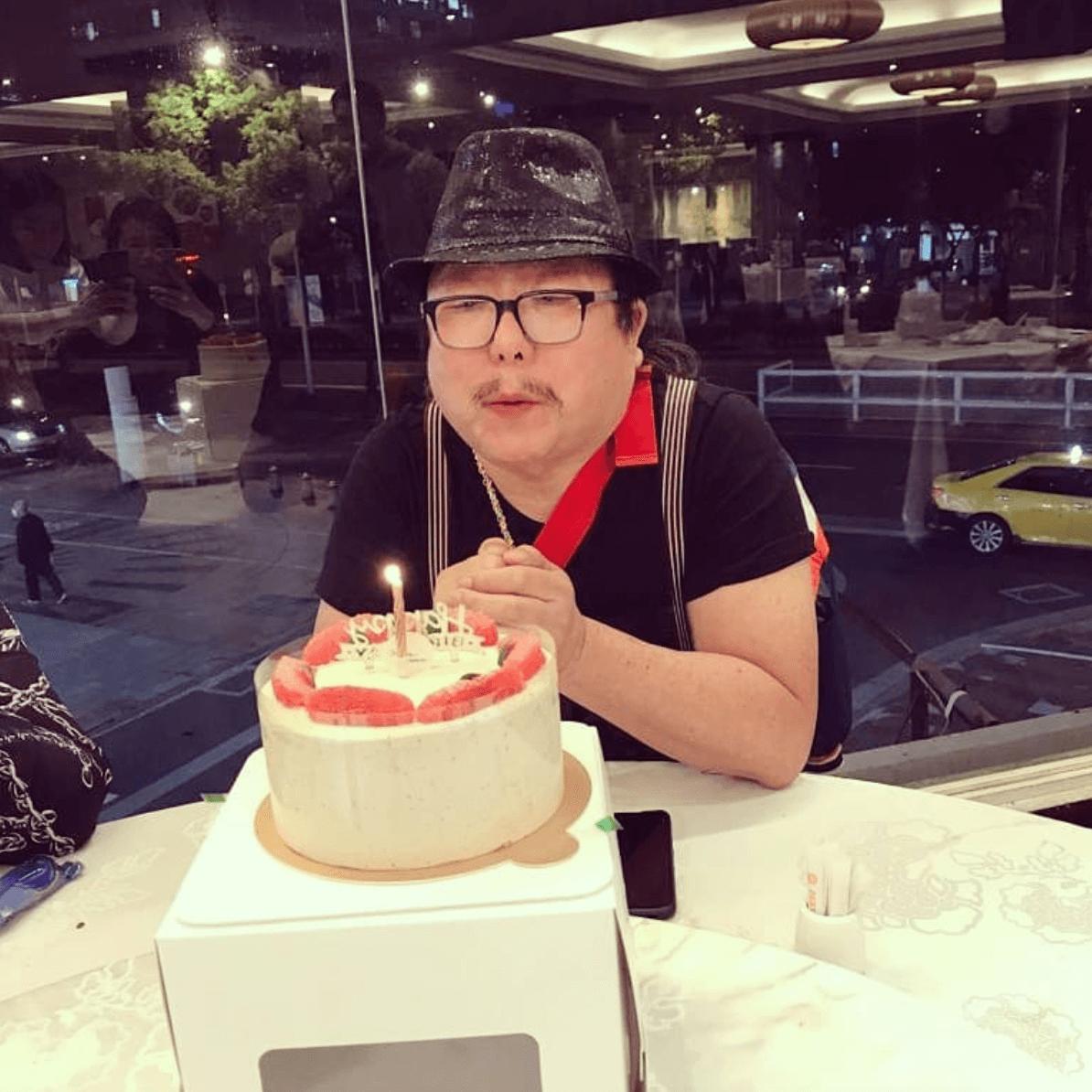 蕭爸爸74歲生日